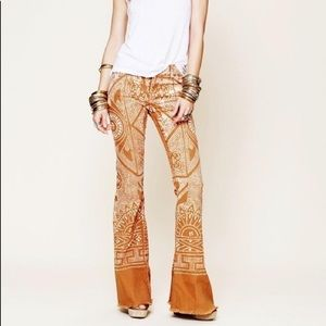 Free people Bali flare jeans 26
